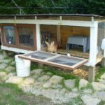 Pallet Made Rabbit Hutch
