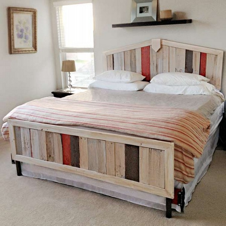 Pallet Made Bed
