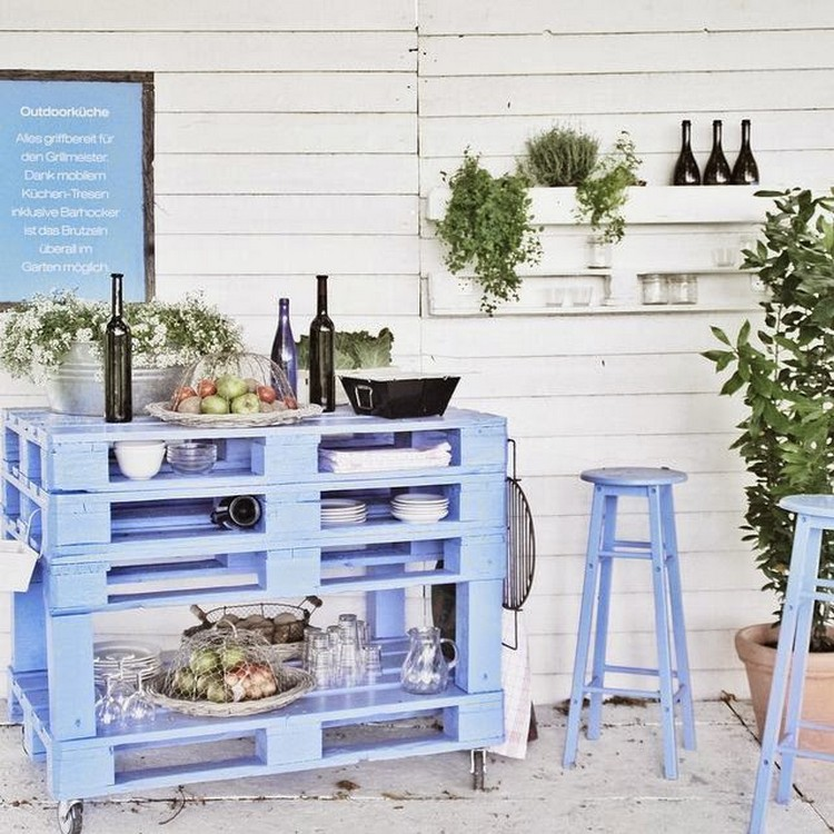 Pallet Outdoor Decor