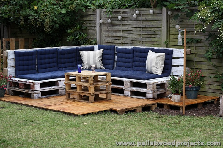 Pallet Patio Furniture Plans ...
