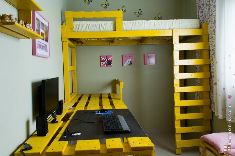 Pallet Projects Bunk Bed