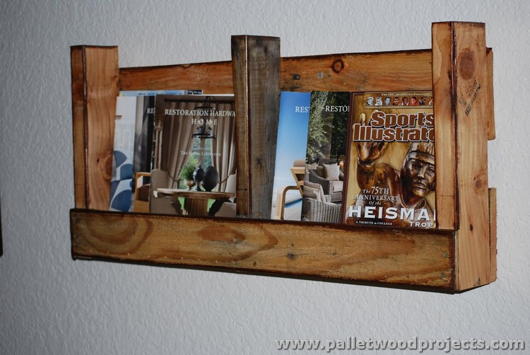 Pallet Wall Shelves