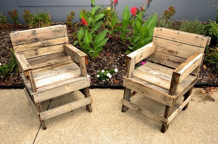 ... Ideas Pallet Wooden Chairs ...