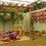 Pallet Wooden Patio Decor