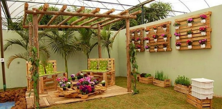 Wooden Pallet Decorating Ideas Pallet Wood Projects