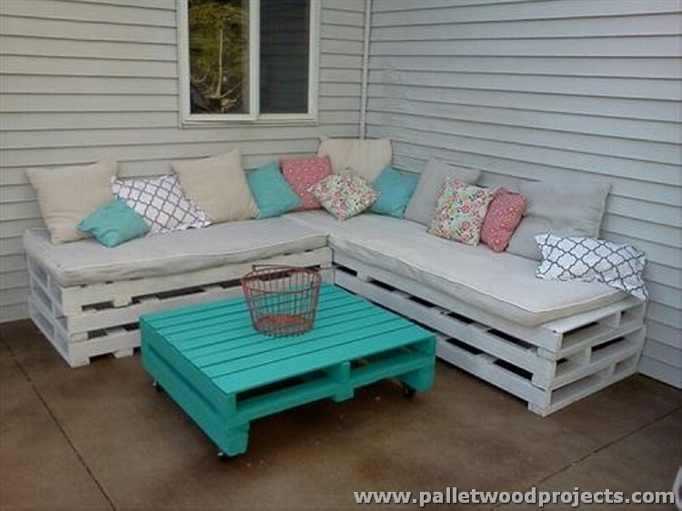 Pallet Wooden Patio Furniture