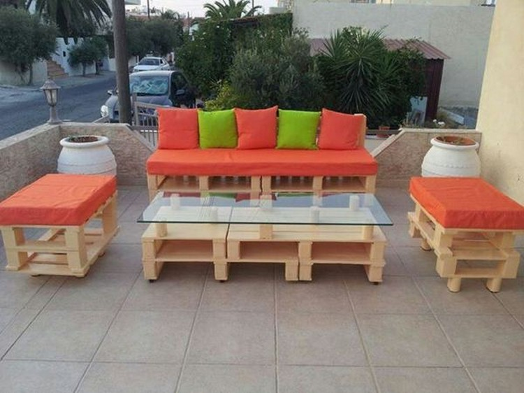 patio furniture from pallets - Inexpensive Patio Furniture