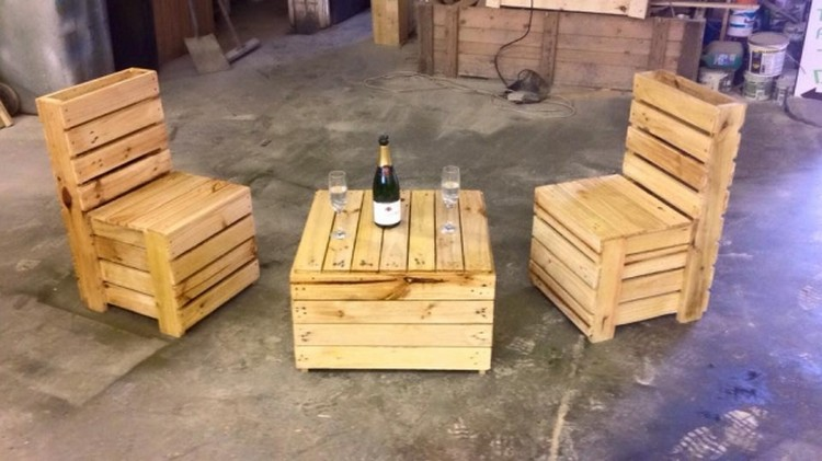 Recycled Pallet Furnitrue