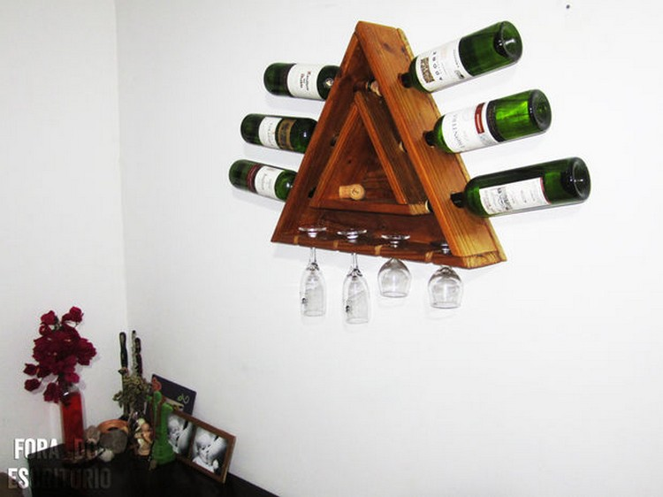 Wine Racks Made Out of Pallets | Pallet Wood Projects