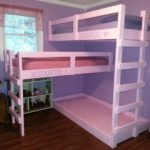 Triple Pallet Bunk Bed