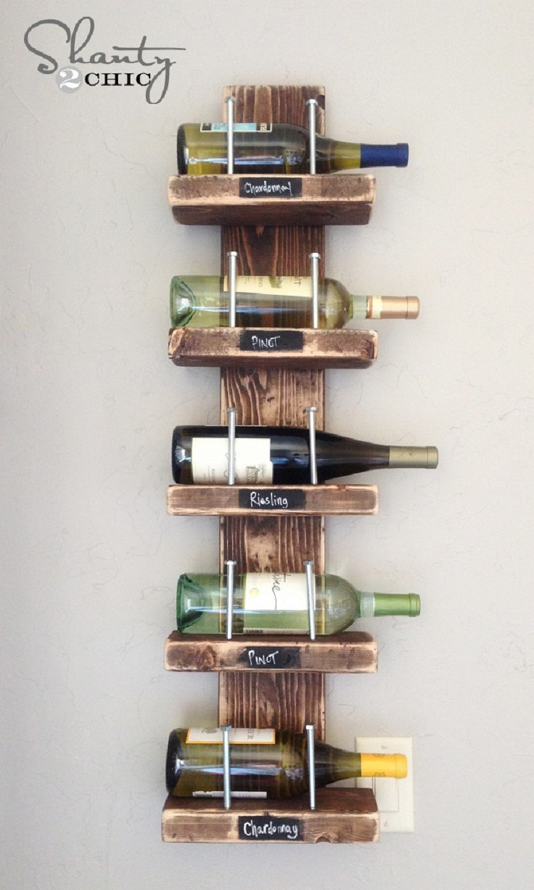 wine racks made out of pallets pallet wood projects. Black Bedroom Furniture Sets. Home Design Ideas