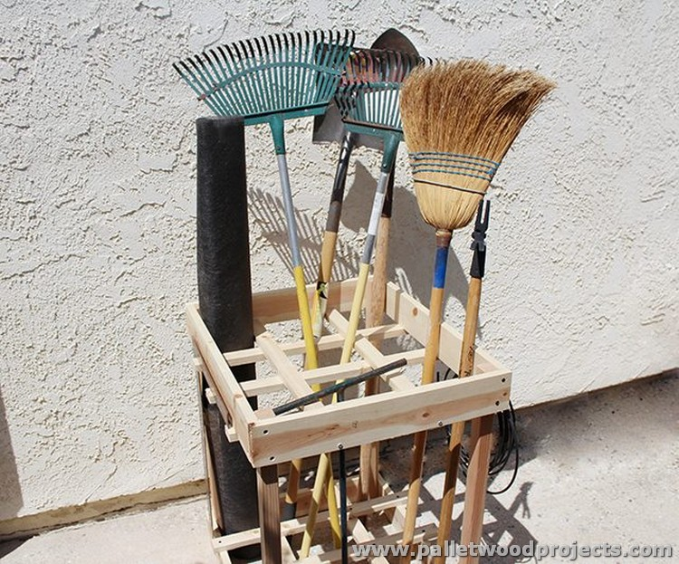 Hold Everything Pallet Tool Rack Ideas Wood Projects