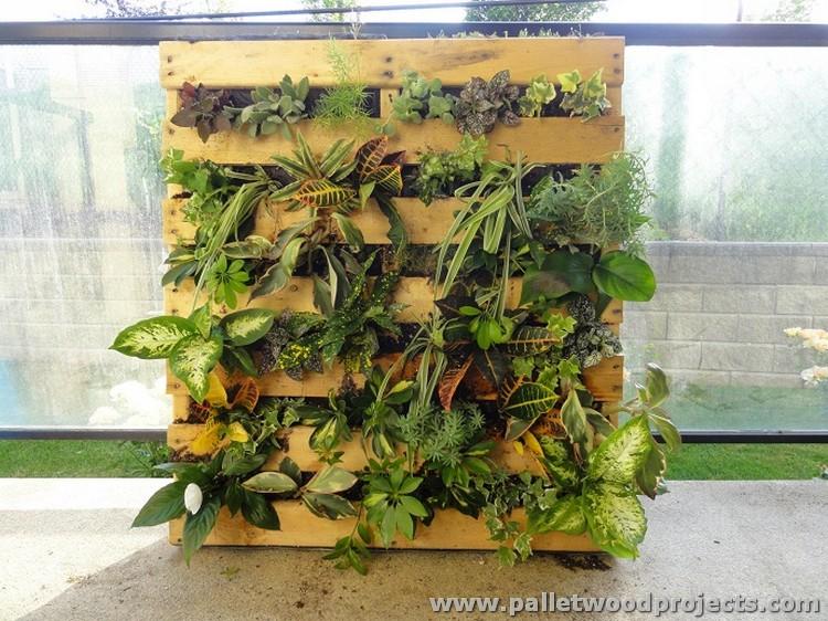 Cute Pallet Planter