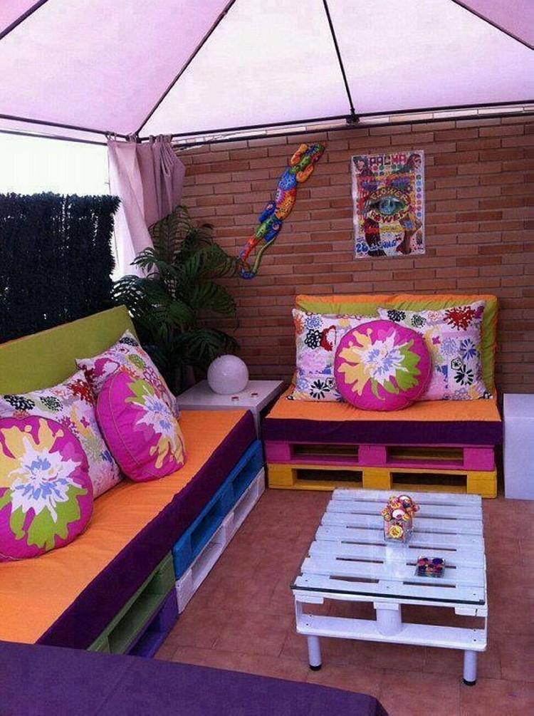 Garden Deck Pallet Furniture