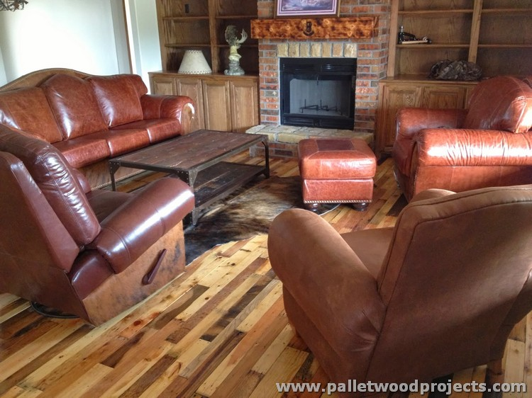 Pallet Flooring Ideas