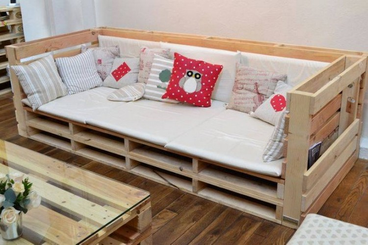 Pallet furniture ideas pallet wood projects for Pallet furniture projects