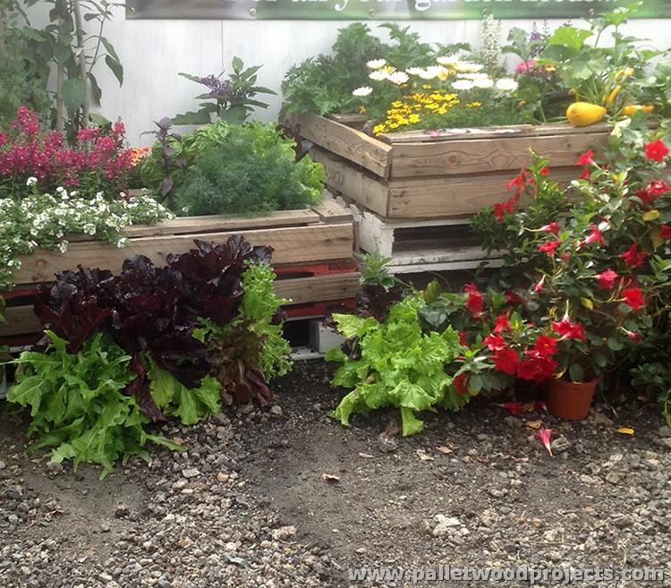 Pallet Garden Decor