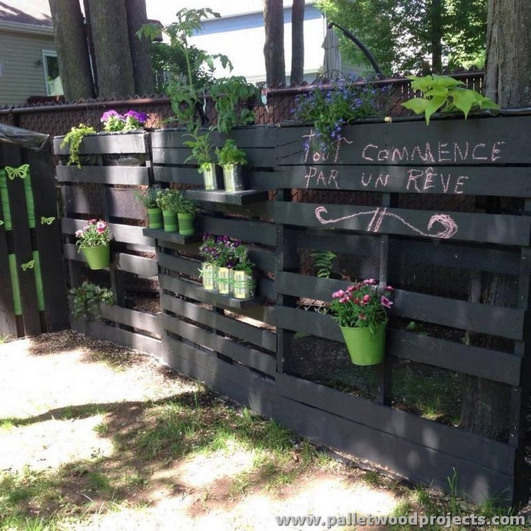 Pallet Garden Decoration