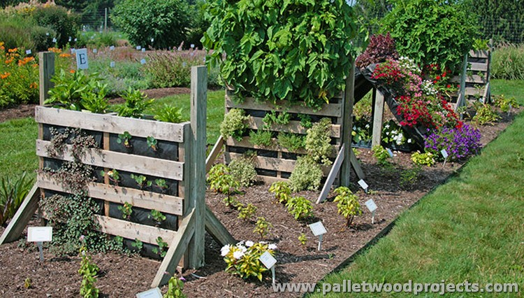 Wood pallet projects for garden pallet wood projects for Pallet garden ideas