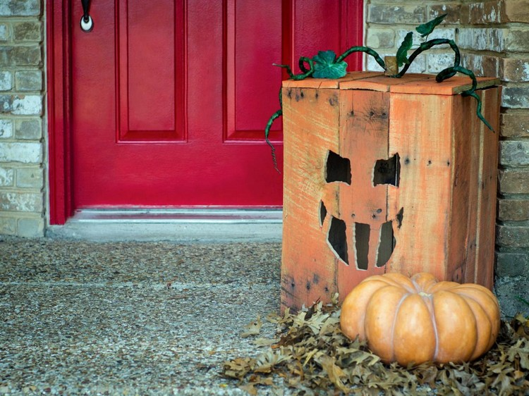 Pallet Halloween Yard Decoration Ideas Pallet Wood Projects