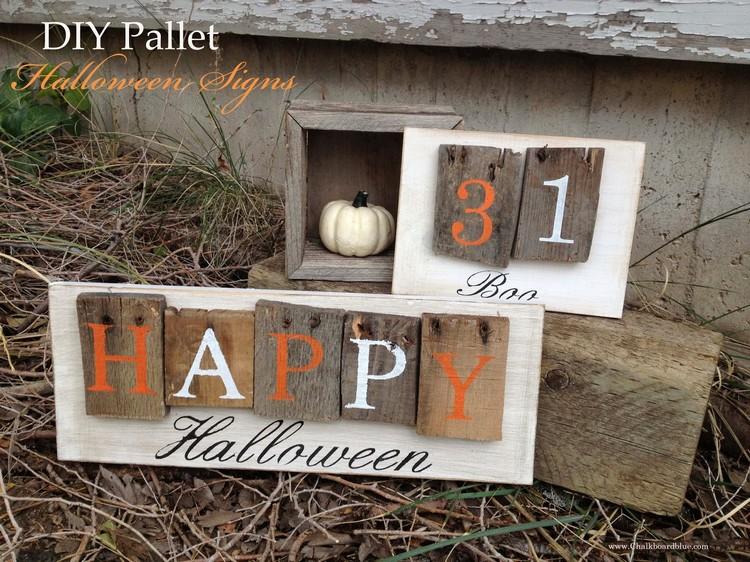 Pallet Halloween Outdoor Ideas