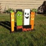Pallet Halloween Yard Decor
