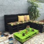 Pallet Made Garden Furniture