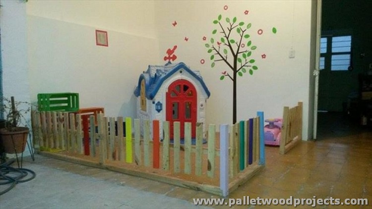 Pallet Playland for Kids
