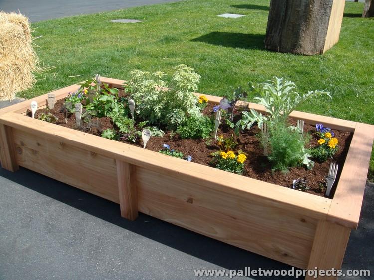 Pallet Raised Garden Bed Ideas