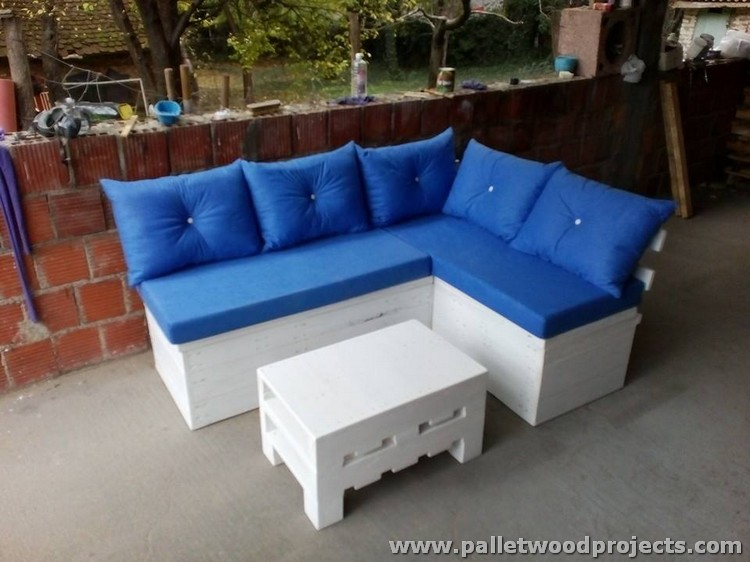 Pallet Sectional Couch Ideas