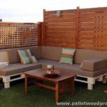 Pallet Terrace Furniture