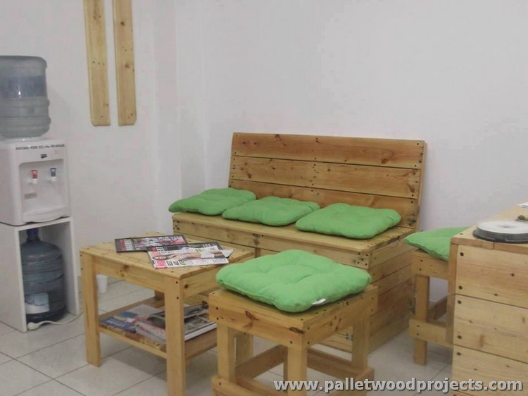 Pallet Wood Office Furniture