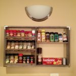 Pallet Wood Spice Rack