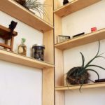 Pallet Wooden Corner Shelf