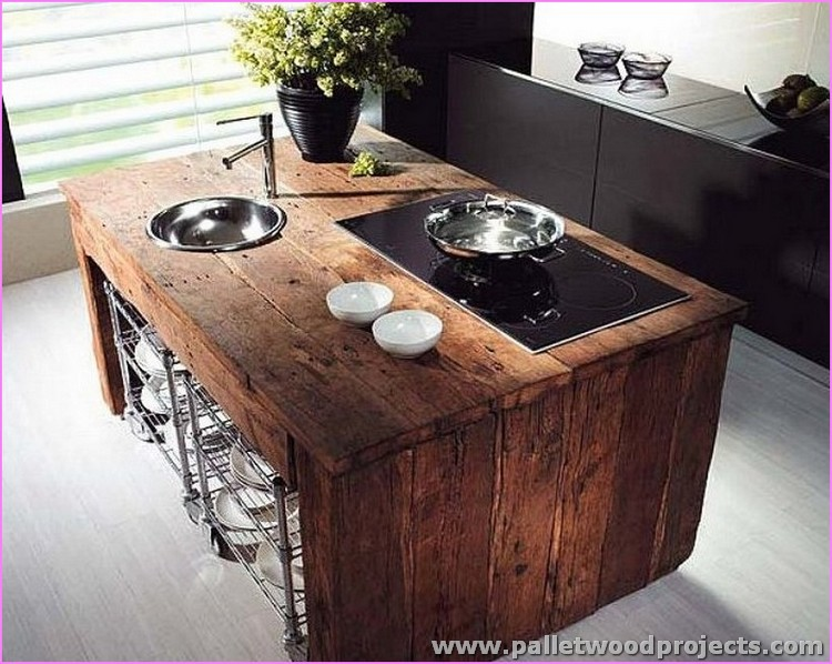 Kitchen Island Made With Pallets kitchen island made with pallets table inside decor