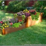 Upcycled Pallet Raised Garden Bed