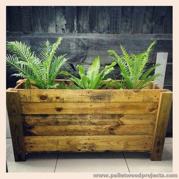 Planters Made Out Of Pallets Pallet Wood Projects