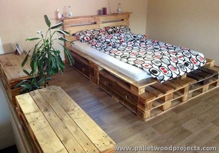 12 inspiring pallet furniture ideas pallet wood projects. Black Bedroom Furniture Sets. Home Design Ideas