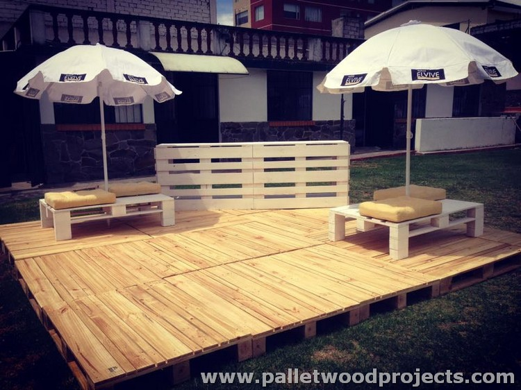 Pallet Deck and Furniture
