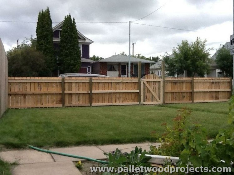 Pallet Garden Fence Ideas