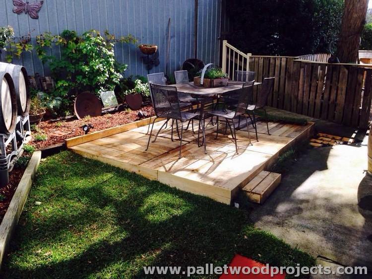 Pallet Made Deck