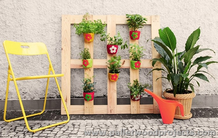 Pallet Plant Stand Verticle Planter
