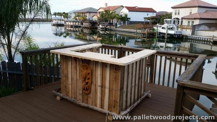Pallet Tiki Bar Ideas