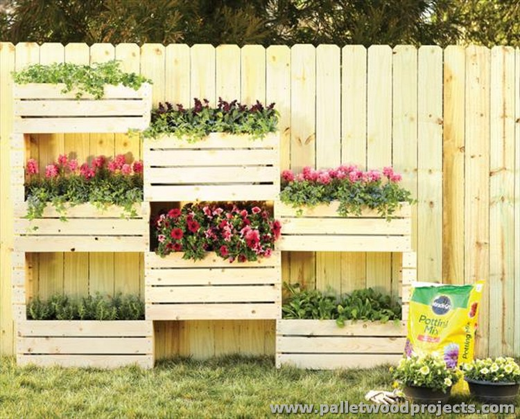 Adorable Pallet Wall Planter Ideas | Pallet Wood Projects
