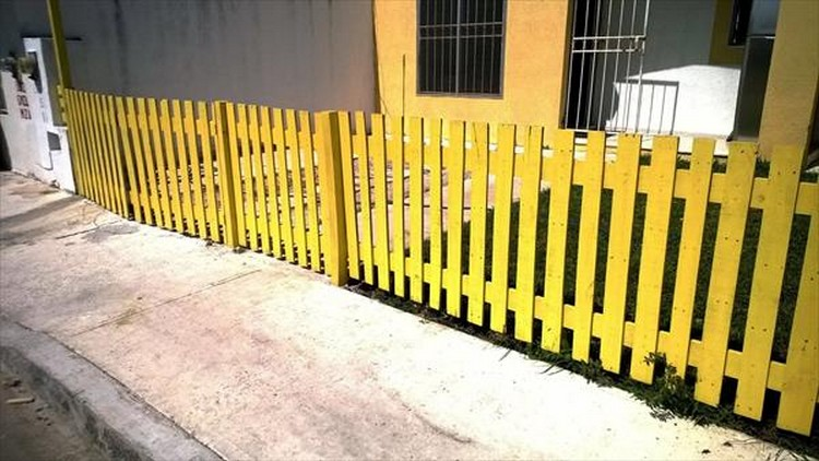 Recycled Pallet Fence Plans Pallet Wood Projects