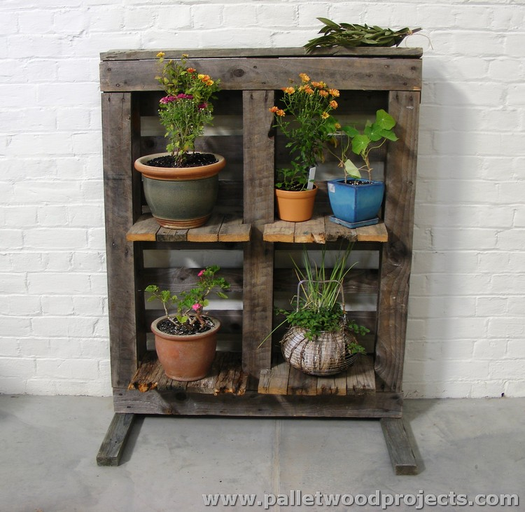 Plant Stands Made Out Of Pallets Pallet Wood Projects