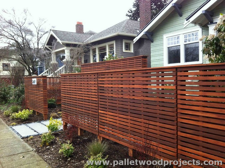 recycled pallet fence plans pallet wood projects. Black Bedroom Furniture Sets. Home Design Ideas