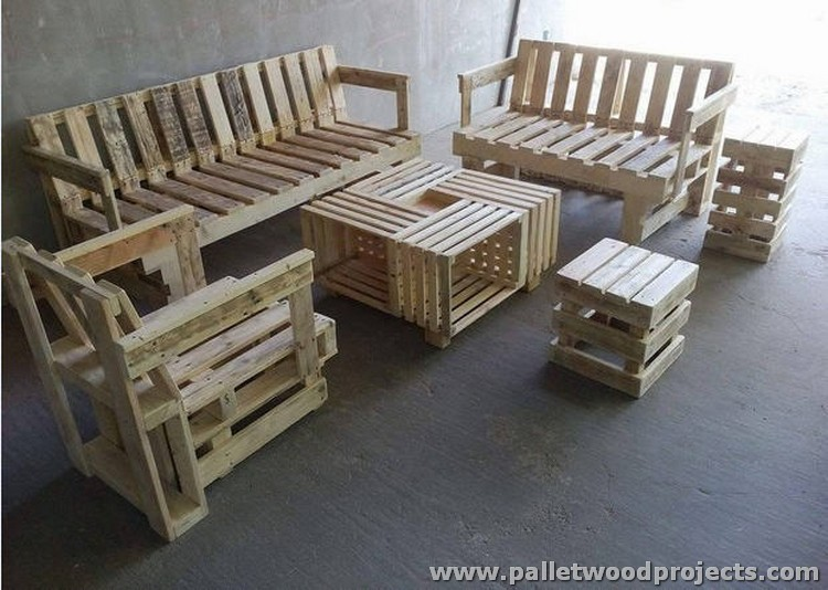 wood pallet furniture ideas. Wooden Pallet Furniture Wood Ideas