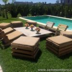 DIY Pallet Garden Furniture