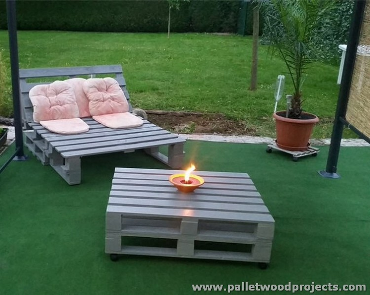 pallet patio furniture pallet patio furniture set garden furniture made with pallets - Garden Furniture Using Pallets